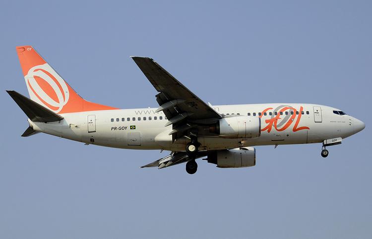 самолет Gol Transportes Aereos